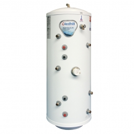 Gledhill Asl0090 Indirect Solar Stainless Steel Unvented Cylinder 180l