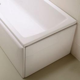 Vitra 54950001000 Neon Flat Bath End Panel 800mm