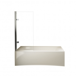 Novellini Moon11v80d-1k Moon Bath Screen 800x1500mm