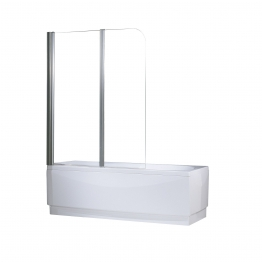 Novellini Auroran2-1k Aurora Shower Enclosure 2 Clear Bath Screen Left Hand 1200mm