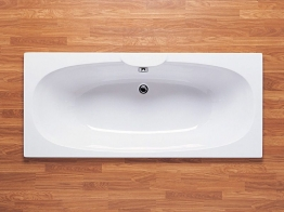 Roca 023200000 Sitges Double Ended Bath White 1700mm X 750mm