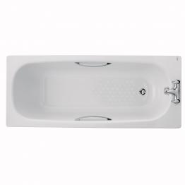 Twyford Bs1272wh Celtic Steel Bath White 1600 X 700mm Antislip