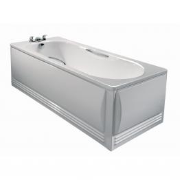 Twyford Ce1572wh Celtic Steel Bath White 1700 X 700mm Antislip