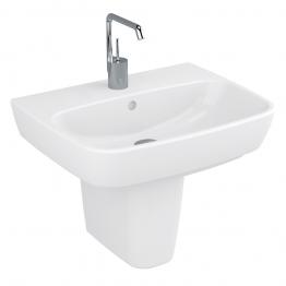 Vitra 4381b003-0973 Shift 1 Tap Hole Washbasin 55cm