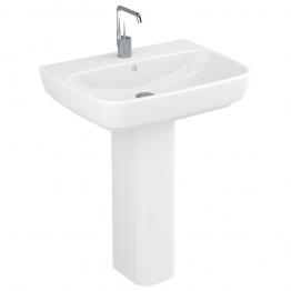 Vitra 4383b003-0973 Shift 1 Tap Hole Washbasin 65cm