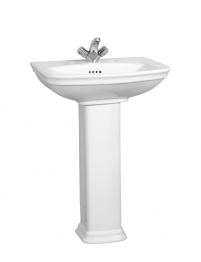 Vitra 4167b003-0022 Serenada Washbasin 2 Tap Hole 600mm