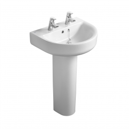 Ideal Standard J467901 Playa Semi-pedestal Large For Use With 500mm Or 550mm Basins White