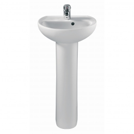 Twyford Gr4910wh Refresh/galerie/advent/elite Cloakroom Pedestal White