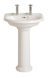 Stratford Pedestal For Stratford Basin In White