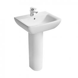 Ideal Standard Sandringham 51 S162201 550mm 1 Tap Hole Basin & Pedestal Pack