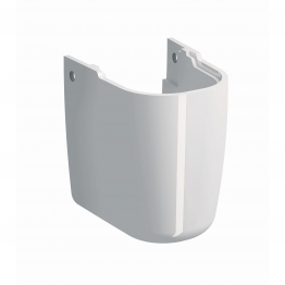 Twyford Gl4970wh Galerie Plan Semi Pedestal White