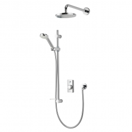 Aqualisa Visage Digital Divert Vsd.a1.bv.dvfw.14 Digital Shower Concealed With Adjustable And Fixed Wall Heads Hp/combi