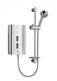 Mira 1.1563.011 Escape Thermostatic Electric Shower Chrome 9.8kw