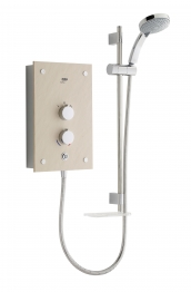 Mira Galena Electric Shower 9.8kw Light Stone Fascia