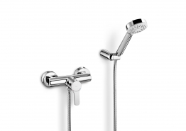 Roca 5a2009c00 L20 Wall Mounted Shower Mixer And Kit