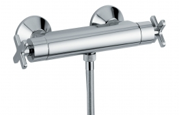 Abode Ab2106 Serenitie Low Pressure Exposed Thermostatic Shower Mixer Chrome