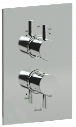 Abode Ab2217 Harmonie Concealed Thermostatic Shower Mixer Dual Exit