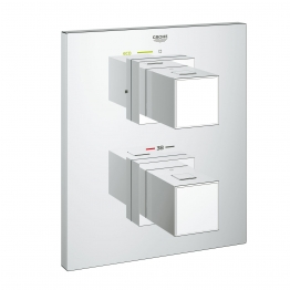 Grohe 34509000 Grotherm Cube Thermo Shower Mix Without Body