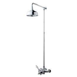 Iflo Penro Thermostatic Valve And Fixed Shower Head