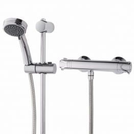 Triton Undethbmct Dene Cool Touch Bar Mixer Shower With Fast-fit Brackets