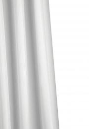 Croydex Shower Curtain Plain White