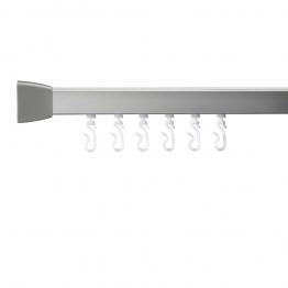 Croydex Gelson 85300 Mod 4 800 Shower Rail Silver 2135mm