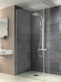 Iflo Kalhatti Wet Room Shower Return Panel 300mm