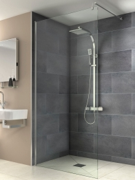 Iflo Kalhatti Wet Room Shower Panel 800mm