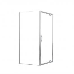Novellini Lunesf84-1k Lunes Side Panel Adjustable 840mm