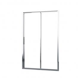 Novellini Lunes2p114-1k Lunes Clear Glass