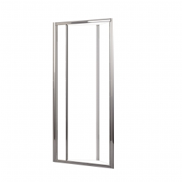 Novellini Luness72-1k Lunes Clear Glass Chrome