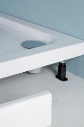Iflo Shower Tray Panel And Leg Pack 1700mm