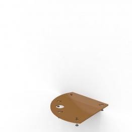 Kudos Pl91c Curved Plinth Framework And Board 910 X 910mm