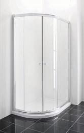Iflo 1200 X 800 Mm Left Hand Offset Quadrant Abs Slimline Shower Tray