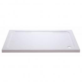 Iflo 1200 X 760 Mm Abs Capped Slimline Stone Shower Tray