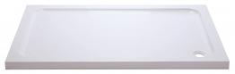 Iflo 900 X 760 Mm Abs Capped Slimline Stone Shower Tray