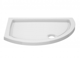 Iflo Alamere Offset Quadrant Shower Tray (right Hand) 1200 X 910 Mm