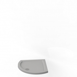Kudos Concept 2 Dc91w Tray Curved White 910mm