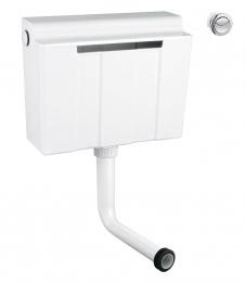 Grohe 39054000 Adagio Dual Flush Cistern Side Entry