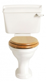 Heritage Stratford Cistern Inc Fittings And Lever White