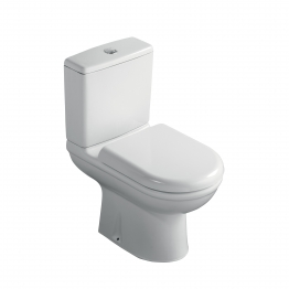 Ideal Standard Sandringham 31 S161301 Close Coupled Toilet Pan & Cistern Pack With Soft Close Seat