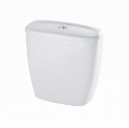 Twyford Option Close Coupled Dual Flush Push Button Cistern White Ot2396wh