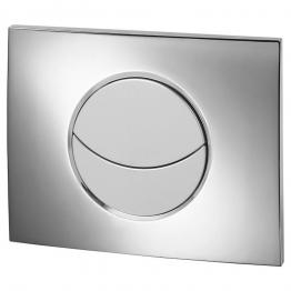 Wirquin 50718122 Pro Moon Chrome Dual Flush Push Plate