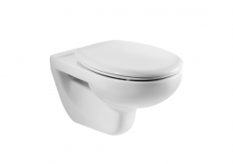 Roca A34630300s Laura Wall Hung Wc Pan Horizontal Outlet White