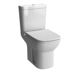 Vitra S20 Close Coupled Wc Shrouded Open Back Pan 5513l003-0075