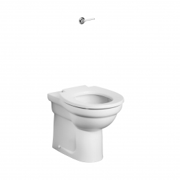 Armitage Shanks S305601 Contour 21 Back To Wall Rimless Standard Height Wc Pan With Horizontal Outlet White