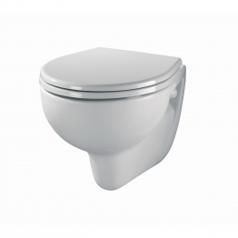 Twyford Ar1738wh Alcona Wall Hung Pan White