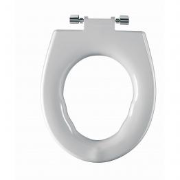 Twyford Av7861wh Avalon/sola Seat Ring Top Fix White