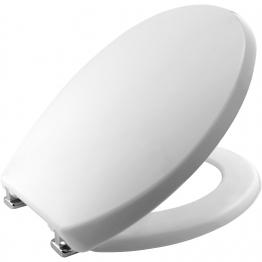 Carrara & Matta Toilet Seat & Cover Atlantic Spa Plastic White 108052000