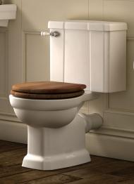 Iflo Herita Ferrara Oak Toilet Seat